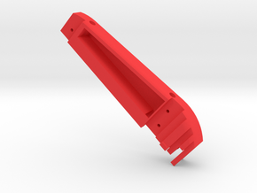 F2D Handle cover v1.1 - Henning Forbech in Red Processed Versatile Plastic