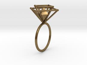 Crazy diamond 58 in Natural Bronze