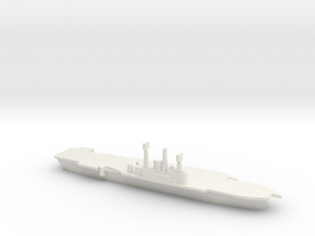 HMS Ark Royal R09, 1977 Refit, 1/2400 in White Natural Versatile Plastic