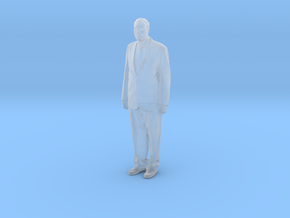 Printle F Jacques Chirac - 1/87 - wob in Smooth Fine Detail Plastic