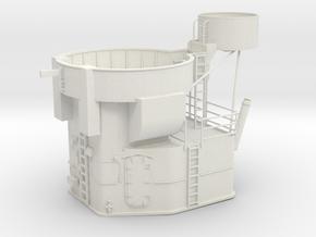 Best Cost 1/48 USN Fletcher Stern Bridge in White Natural Versatile Plastic
