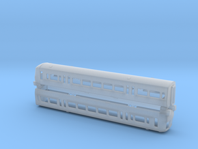 N Gauge Class 466 EMU in Smooth Fine Detail Plastic