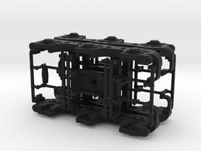 1:31 Scale Commonwealth Tender Truck in Black Natural Versatile Plastic