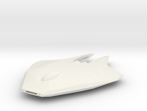 Katar-Class Fighter in White Natural Versatile Plastic