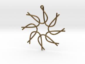 Cosecant Ornament in Natural Bronze