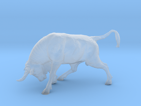 Printle Thing Bull - 1/120  in Smooth Fine Detail Plastic