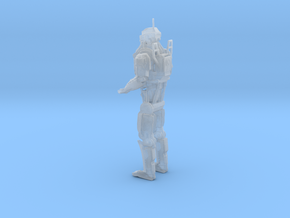Elysium Robot (1:35 Scale) in Smooth Fine Detail Plastic