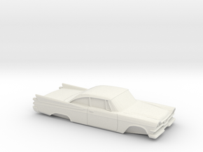 1/32 Dodge Royal Coupe in White Natural Versatile Plastic
