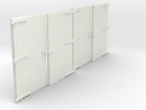 LM76C Doors  in White Natural Versatile Plastic