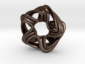 Jaborosa in Polished Bronze Steel