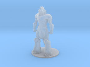 Slizardo 35mm Tall (Titan Master Scale) in Smooth Fine Detail Plastic