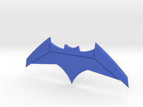 Justice League Batarang 200mm! in Blue Processed Versatile Plastic