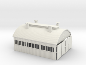 LM76 Engine Shed in White Natural Versatile Plastic