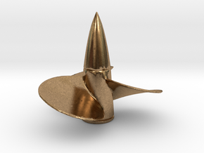 1/150 DKM Bismarck Propeller Right in Natural Brass