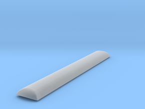 Arch Style MT Baggage Car Replacement Roof  in Smooth Fine Detail Plastic