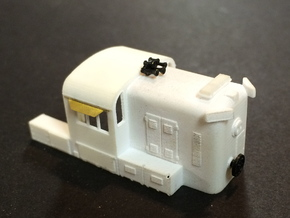 N scale Western Maryland hammerhead RS3  in Smooth Fine Detail Plastic