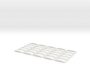 22' Roll Over Tarp Frame Builders pack in White Natural Versatile Plastic