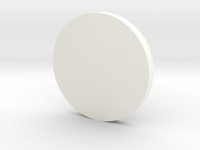 TougeSpirit Emblem in White Processed Versatile Plastic