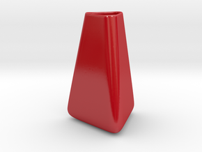 Trinity vase in Gloss Red Porcelain
