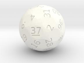 d37 oddball die in White Processed Versatile Plastic