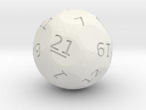 d21 oddball die in White Premium Strong & Flexible