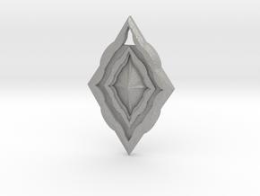 Diamond Pendant in Aluminum