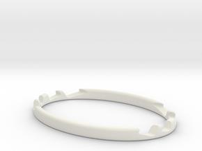 Multi-Angle Desktop Smartphone Stand in White Natural Versatile Plastic