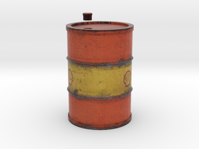 Drum 200 Litre 1:18 in Full Color Sandstone