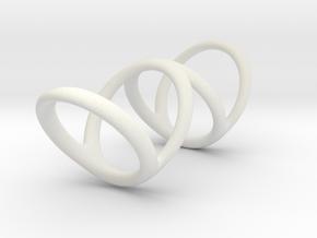 Ring for Bob L1 1 L2 1 D1 3 1-2 D2 5 D3 6 in White Premium Strong & Flexible