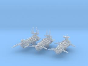 Idolizer Frigates (3) in Smooth Fine Detail Plastic