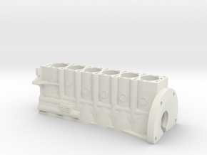 ScaledEngines_2JZ-Block in White Natural Versatile Plastic