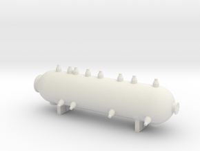 HO Scale Reactor Load in White Natural Versatile Plastic