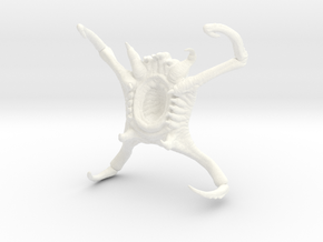 HALF-LIFE 2 POISON HEADCRAB COLLECTABLE in White Strong & Flexible Polished