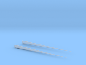 Chopsticks in Smooth Fine Detail Plastic
