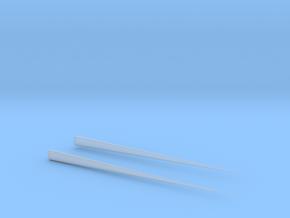 Chopsticks in Smooth Fine Detail Plastic