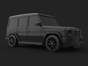 Mercedes-Benz_G-Class in Smooth Fine Detail Plastic