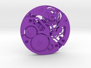 Watch movement ETA in Purple Processed Versatile Plastic