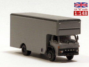 Ford D series moving truck UK N scale in Frosted Extreme Detail