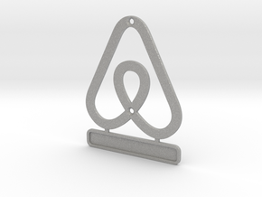 Airbnb HouseSymbol + Message in Aluminum
