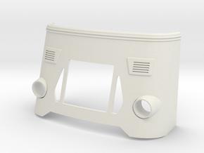 DAF-front-zonder-wielkast in White Natural Versatile Plastic