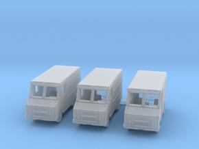 Step Van, 3-pack R3 in Smooth Fine Detail Plastic