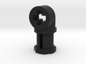 Toggle Joint with Cross in Black Premium Versatile Plastic