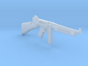Thompson M1A1 20rds mag (1:18 scale)-PASSED- in Frosted Ultra Detail: 1:18