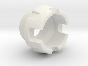 Custom CC Crystal Energy Port V2 in White Natural Versatile Plastic