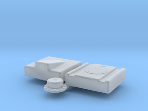 1/43 Fuel Cell RJS-5g-13-13-8-Sump in Smoothest Fine Detail Plastic