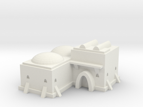 Tatooine Building 3  in White Natural Versatile Plastic