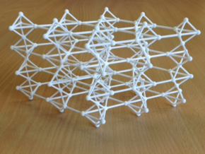 swedenborgite lattice in White Natural Versatile Plastic