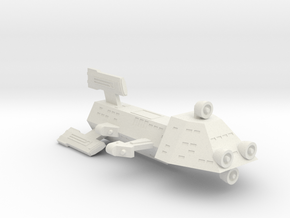 3788 Scale Kzinti Scout Destroyer (DDS) SRZ in White Natural Versatile Plastic