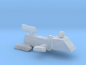 3788 Scale Kzinti FFK Frigate (C-9 Refit) SRZ in Smooth Fine Detail Plastic