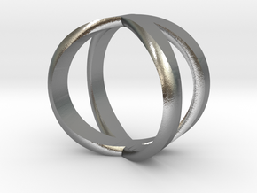 infinity ring size 9.5 in Natural Silver